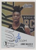 Lonnie Walker IV /125