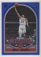 Marquee - Mikal Bridges #/99