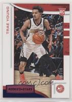 Rookies and Stars - Trae Young #/99