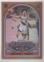 Marquee - Anfernee Simons