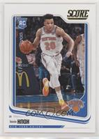 Score - Kevin Knox #/10