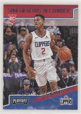 2018-19 Panini Chronicles - [Base] - Pink #195 - Playoff - Shai Gilgeous-Alexander
