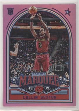 2018-19 Panini Chronicles - [Base] - Pink #265 - Marquee - Collin Sexton