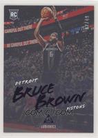 Luminance - Bruce Brown #/49