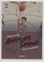 Luminance - Anfernee Simons #/149