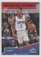 Playoff - Shai Gilgeous-Alexander [EX to NM] #/149