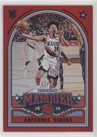 Marquee - Anfernee Simons #/149