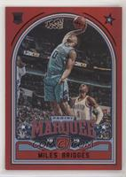 Marquee - Miles Bridges #/149