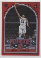 Marquee - Mikal Bridges #/149