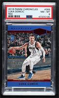 Plates and Patches - Luka Doncic [PSA 8 NM‑MT] #/149