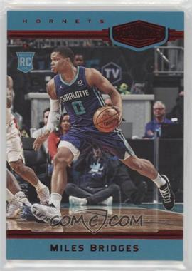 2018-19 Panini Chronicles - [Base] - Red #397 - Plates and Patches - Miles Bridges /149