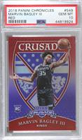 Crusade - Marvin Bagley III [PSA 10 GEM MT] #/149