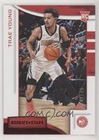 Rookies and Stars - Trae Young #/149