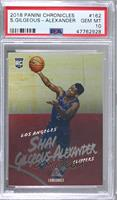 Luminance - Shai Gilgeous-Alexander [PSA 10 GEM MT]