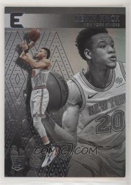 2018-19 Panini Chronicles - [Base] #218 - Essentials - Kevin Knox [EXtoNM]