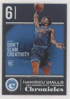 Rookies - Hamidou Diallo [EX to NM]