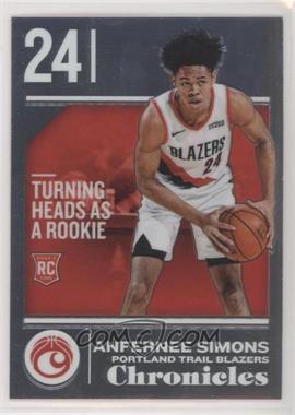 2018-19 Panini Chronicles - [Base] #537 - Rookies - Anfernee Simons