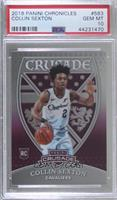 Crusade - Collin Sexton [PSA 10 GEM MT]