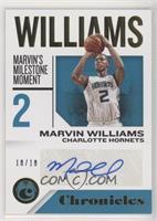 Marvin Williams #/10