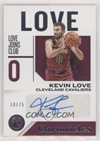 Kevin Love #/75
