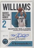 Marvin Williams #/75