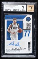 Luka Doncic [BGS9MINT] #/75