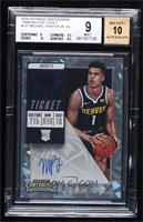 Base - Michael Porter Jr. [BGS 9 MINT] #/25