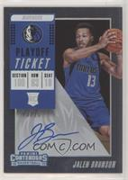 Variation - Jalen Brunson [EX to NM] #/35