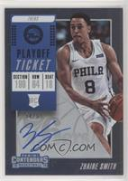 Base - Zhaire Smith /65