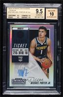Base - Michael Porter Jr. [BGS 9.5 GEM MINT]