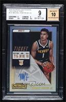 Base - Michael Porter Jr. [BGS 9 MINT] #/49