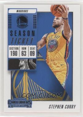 2018-19 Panini Contenders - [Base] #86 - Stephen Curry