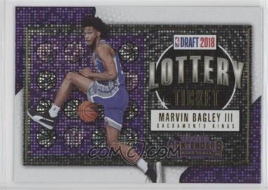2018-19 Panini Contenders - Lottery Ticket #2 - Marvin Bagley III