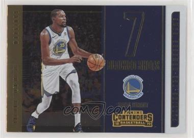 2018-19 Panini Contenders - Playing the Numbers Game #19 - Kevin Durant