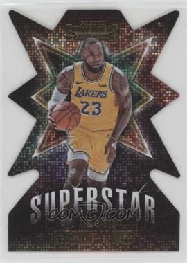 2018-19 Panini Contenders - Superstar Die-Cuts #2 - LeBron James