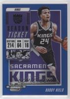 Season Ticket - Buddy Hield #/99