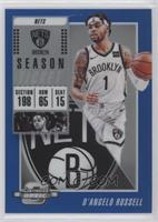 Season Ticket - D'Angelo Russell #/99