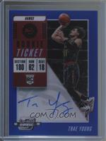 Rookie Season Ticket - Trae Young /99