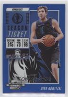 Season Ticket - Dirk Nowitzki /99