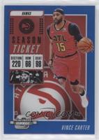 Season Ticket - Vince Carter #/99