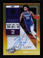 Rookie Season Ticket - Marvin Bagley III #/10