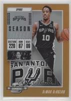 Season Ticket - DeMar DeRozan #/49