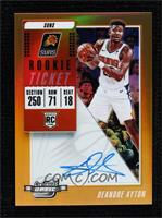 Rookie Variation Season Ticket - Deandre Ayton #/25