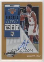 Rookie Season Ticket - Allonzo Trier /25