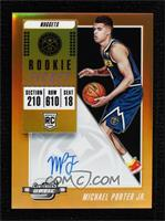 Rookie Season Ticket - Michael Porter Jr. #/25