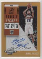 Rookie Season Ticket - Mikal Bridges #/25