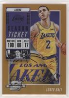 Season Ticket - Lonzo Ball #/49
