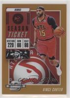 Season Ticket - Vince Carter #/49