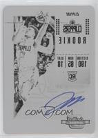 Rookie Variation Season Ticket - Jerome Robinson #/1