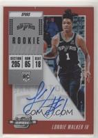 Rookie Season Ticket - Lonnie Walker IV #/149